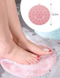 2 Pcs Shower Foot Scrubber/Massager