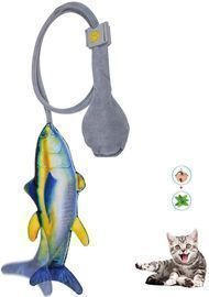 Cat Kicking Fish Toys