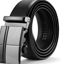 Leather Ratchet Dress Belt