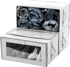 Stackable Closet Storage Organizer Box