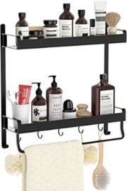 2-Tier Bathroom Shelf