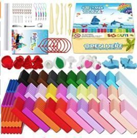 Polymer Clay Starter Kit - 42 Colors