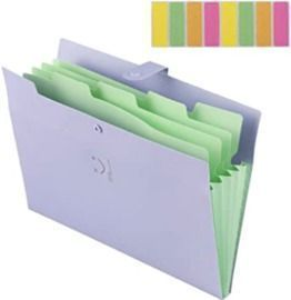 Expanding File Folder with 5 Pockets