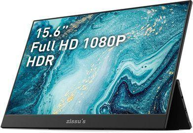 15.6 Zissu 1080P Portable Gaming Monitor