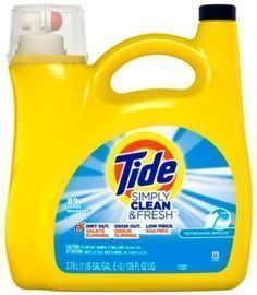 Tide Simply Clean & Fresh Liquid Laundry Detergent (Refreshing Breeze, 138 Oz)