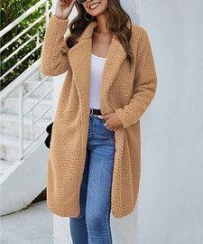 Deal of the Day! Plush Open Coats (Various Styles)
