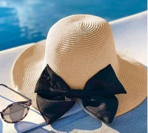 Sun Hats with Bow