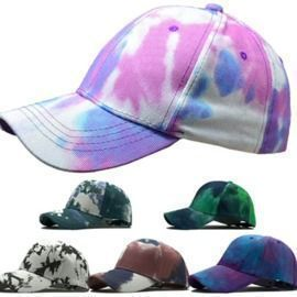 Tie Dyed Adjustable  Hat