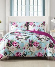 Hallmart Collectibles Ambrosia 2-Pc. Reversible Twin Comforter Set