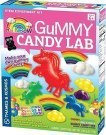 Unicorns, Clouds & Rainbows! Sweet Science STEM Experiment Kit