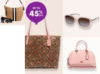 Zulily - Up to 45% Off COACH