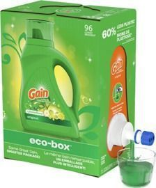 Gain Ultra Concentrated Liquid Laundry Detergent eco-Box