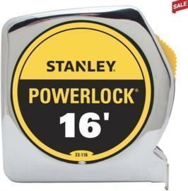 Stanley PowerLock 16' L x 0.75' W Tape Measure