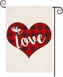 Amazon -  Valentines Day Garden Flag $4.31
