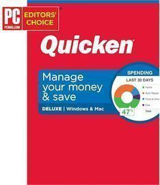 1-Year Quicken Deluxe Personal Finance Subscription (Physical)