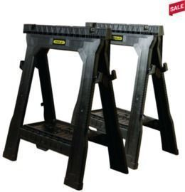 Stanley Folding Sawhorse - 1 Pair