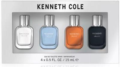 Kenneth Cole Men's 4-Piece Mankind Gift Set