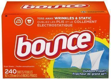 Bounce Fabric Softener Sheets (Outdoor Fresh, 240ct.)