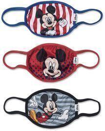 Disney Kids Face Covers, 3pk