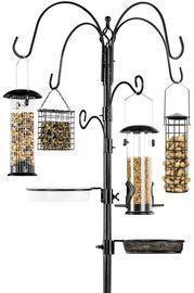 89 6-Hook Bird Feeding Station