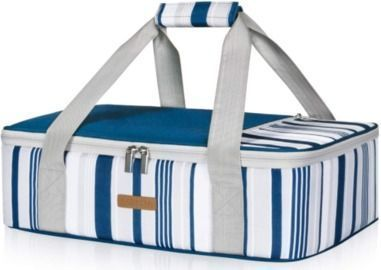 Insulated 9x13 Casserole Carrier for Hot or Cold Foods