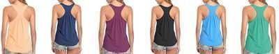 50% OFF Racerback Workout Tank Tops for Women