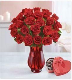 1800 Flowers - 25% Off 2 Dozen Red Roses