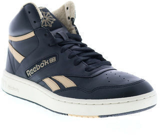 Reebok BB 4600 FV7351 Mens Black Lace Up Basketball Sneakers