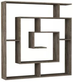 Mckibben Geometric Bookcase by Ivy Bronx (51 x 49)