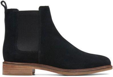 Clarkdale Arlo Boots, Black Suede