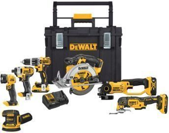 DeWalt 20-Volt Max Lithium-Ion Cordless 7-Tool Combo Kit with ToughSystem