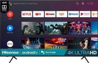 Hisense 75 H6510G Series LED 4K UHD Smart Android TV