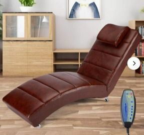 Latitude Run Power Reclining Heated Full Body Massage Chair
