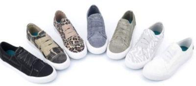 JENN ARDOR Women's Low Cut Canvas Fashion Sneakers