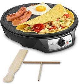 NutriChef Nonstick 12 Electric Crepe Maker