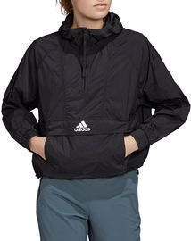 adidas Women's Wind Ready Anorak 1/2 Zip Cropped Pullover
