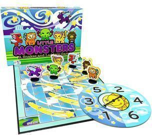 Little Monsters - Snakes and Ladders Game