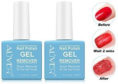 Gel Nail Polish Remover- 2 Pack