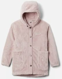 Girls' Fire Side Long Sherpa Fleece Jacket