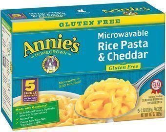 Annie's 2.15oz. Gluten-Free Rice Pasta 5-Pack
