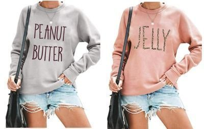 Peanut Butter & Jelly Sweatshirts