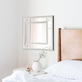 Griswalda Mirrored Frame Wall Mirror