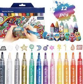 Acrylic Paint Pens - Set of 12