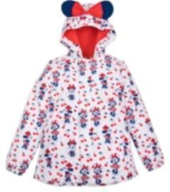Minnie Mouse Packable Kids Rain Jacket