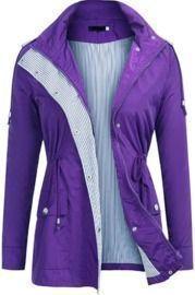 Amazon - Detachable Hooded Raincoats $15.99