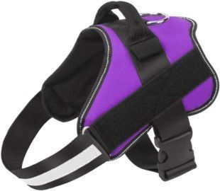 No-Pull Reflective Breathable Adjustable Pet Vest with Handle