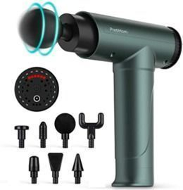 Muscle Massage Gun with 6 Adjustable Speed and 8 Heads