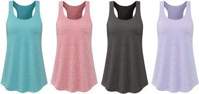 Dressystar Pull On Womens Racerback Tank Tops