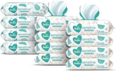 Pampers Sensitive Water-Based Baby Wipes