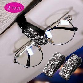 2 Pack Car Glasses Holders
